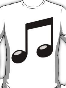 black music note T-Shirt