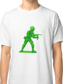 green toy soldier Classic T-Shirt