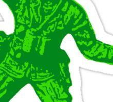green toy soldier 2 Sticker