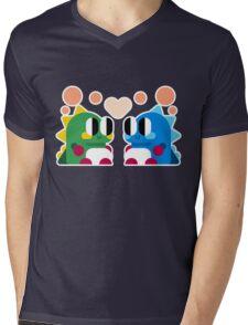 Bubble Bobble Love Mens V-Neck T-Shirt
