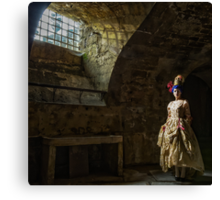 French lady in the Dungeon Canvas Print