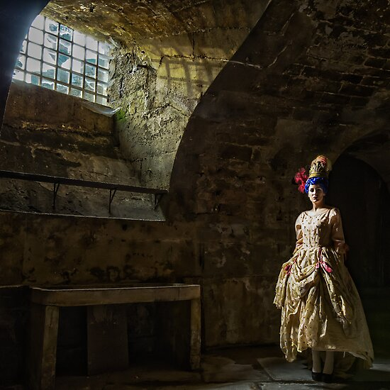French lady in the Dungeon by Heather Buckley