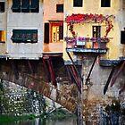 Autumn Ponte Vecchio by Rae Tucker