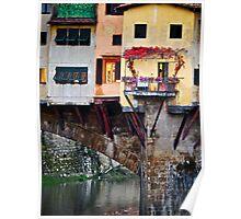 Autumn Ponte Vecchio Poster