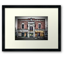 Old Building on Broadway Framed Print