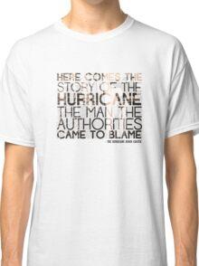 The Hurricane Bob Dylan T-shirt Classic T-Shirt