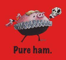 Hamlet - Pure ham (Dark text) One Piece - Short Sleeve