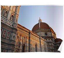 Basilica di Santa Maria del Fiori Poster