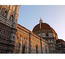 Basilica di Santa Maria del Fiori Photographic Print