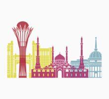 Astana skyline pop Kids Clothes