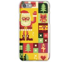 Christmas Pattern No. 1 iPhone Case/Skin