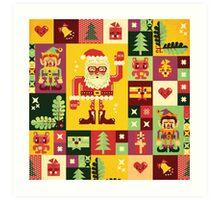 Christmas Pattern No. 1 Art Print