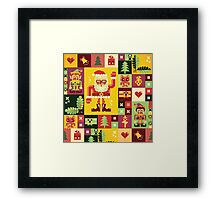 Christmas Pattern No. 1 Framed Print