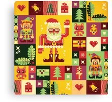 Christmas Pattern No. 1 Canvas Print