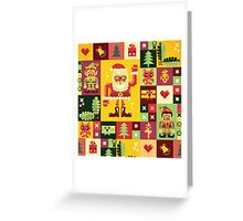 Christmas Pattern No. 1 Greeting Card