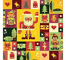 Christmas Pattern No. 1 Photographic Print