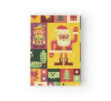 Christmas Pattern No. 1 Hardcover Journal