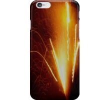 Orange Spark Glow iPhone Case/Skin
