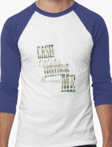 Cash Rules everything around me C.R.E.A.M. - T Shirt Men's Baseball ¾ T-Shirt