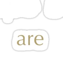 Castiel's People Skills Sticker
