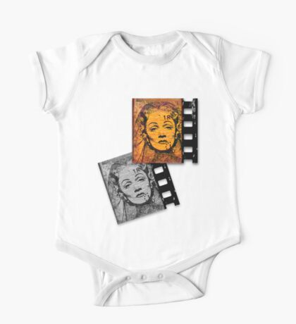 Old Movie Frame One Piece - Short Sleeve