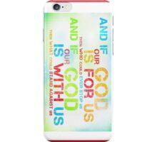 Romans 8:31 iPhone Case/Skin