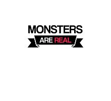 monsters are real by dclete