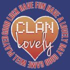Clan Lovely - Words and Hearts by CoZe