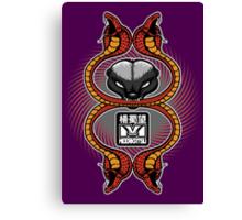 Honey Badger and cobras Canvas Print