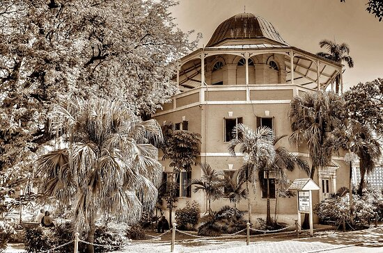 Public Library on Shirley Street in Nassau, The Bahamas by 242Digital