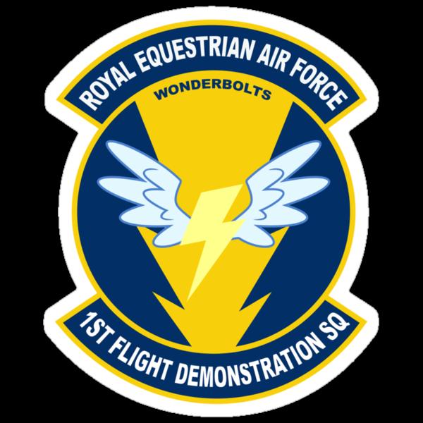 Wonderbolt Squadron Shirt (Large Patch) by mattings