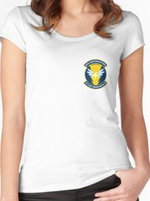 Wonderbolt Squadron Shirt (small patch) Women's Fitted Scoop T-Shirt