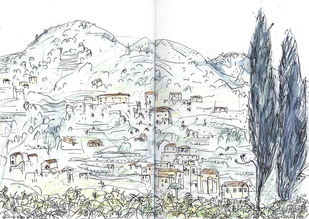 Amalfi Village by John Douglas