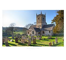Broadway Court, Worcestershire Photographic Print