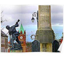 City Centre Monuments Poster