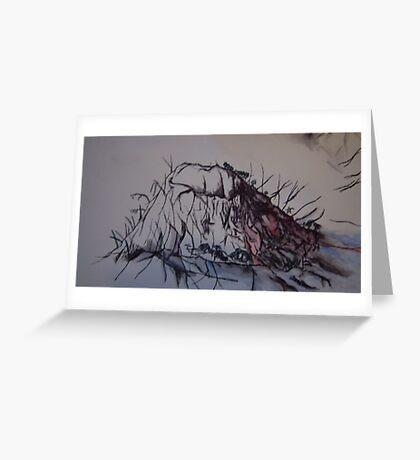 Doom. Greeting Card
