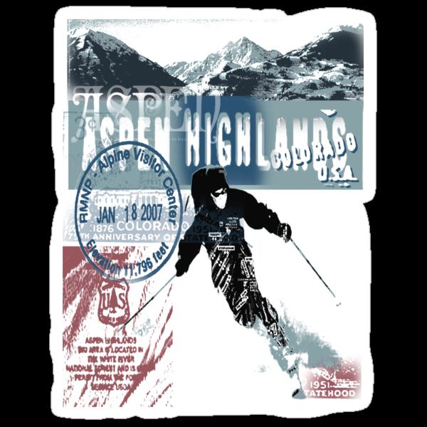 aspen highland skiiing by redboy