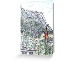 Early Evening, Innsbruck Greeting Card