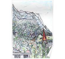 Early Evening, Innsbruck Poster