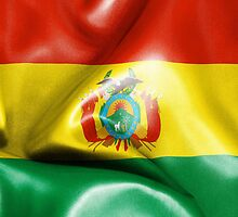 Bolivia Flag by MarkUK97