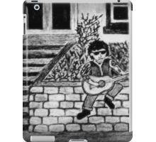 LONELY ROCKER BW iPad Case/Skin