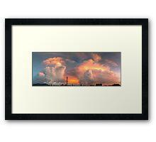 ©HCS The Big Bang Cloud Framed Print