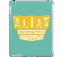 Alias Investigations iPad Case/Skin