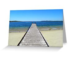 Nelson Jetty Greeting Card