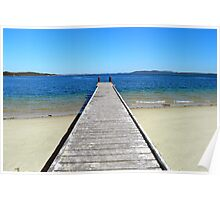 Nelson Jetty Poster