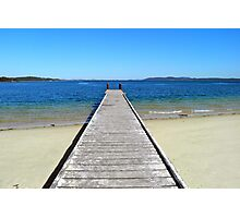 Nelson Jetty Photographic Print