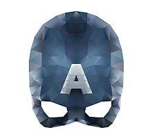 Captain America (Geometric) by sammich96