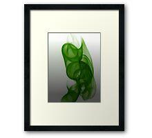 ©NLE Aureal Green I Framed Print