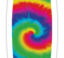 Surfboard Tie-Dye Swirl Sticker