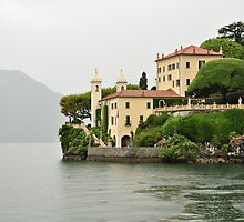 Villa on Lake Como by Karen E Camilleri